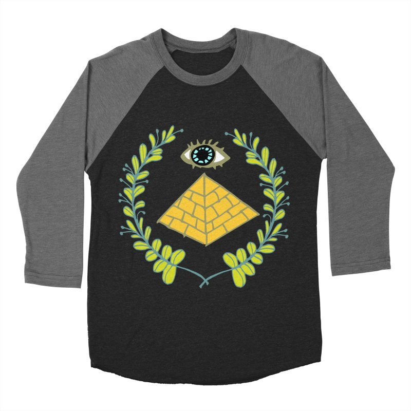 Pyramid <o> Scheme Women's Baseball Triblend Longsleeve T-Shirt by napiform clip art