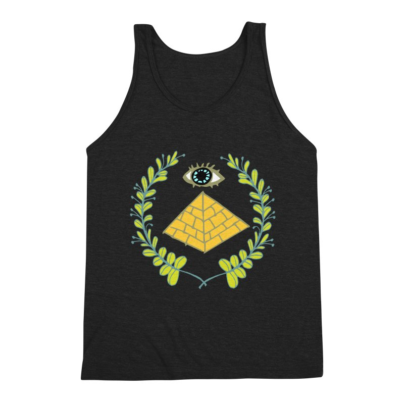 Pyramid <o> Scheme Men's Triblend Tank by bad arithmetic
