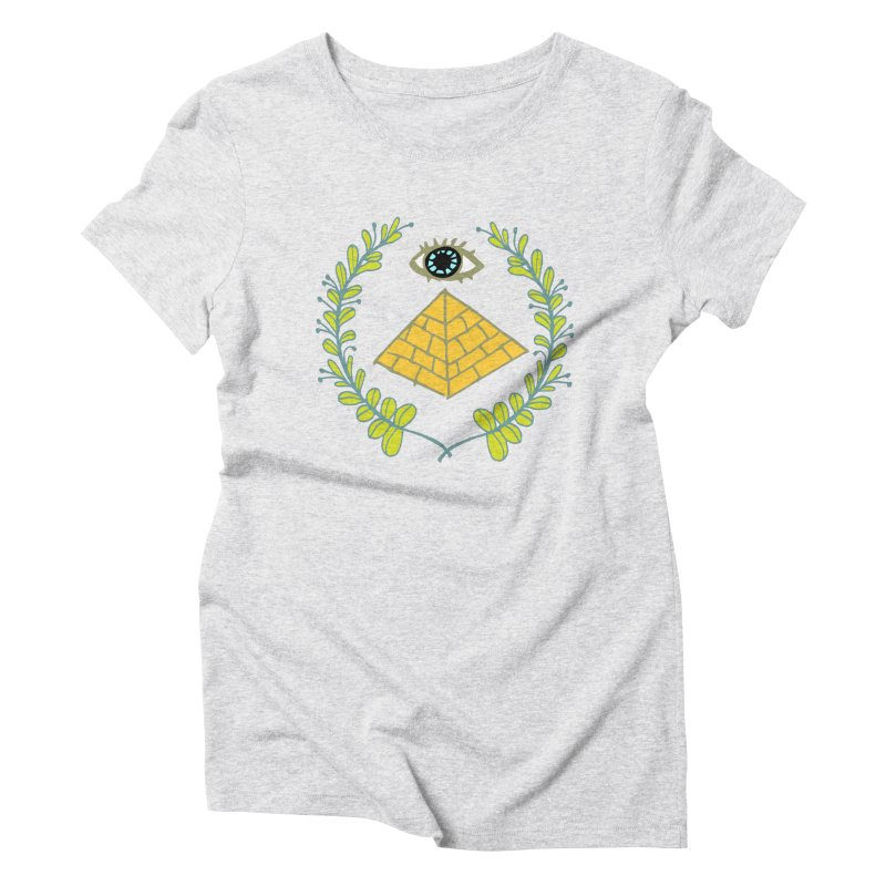 Pyramid <o> Scheme Women's T-Shirt by bad arithmetic