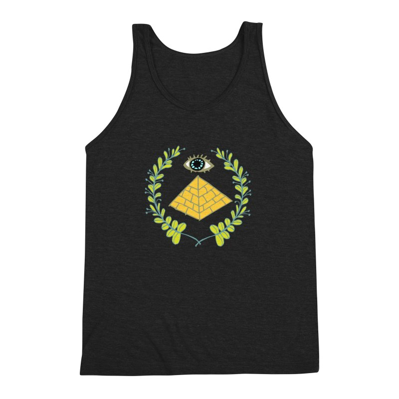 Pyramid <o> Scheme Men's Triblend Tank by napiform clip art