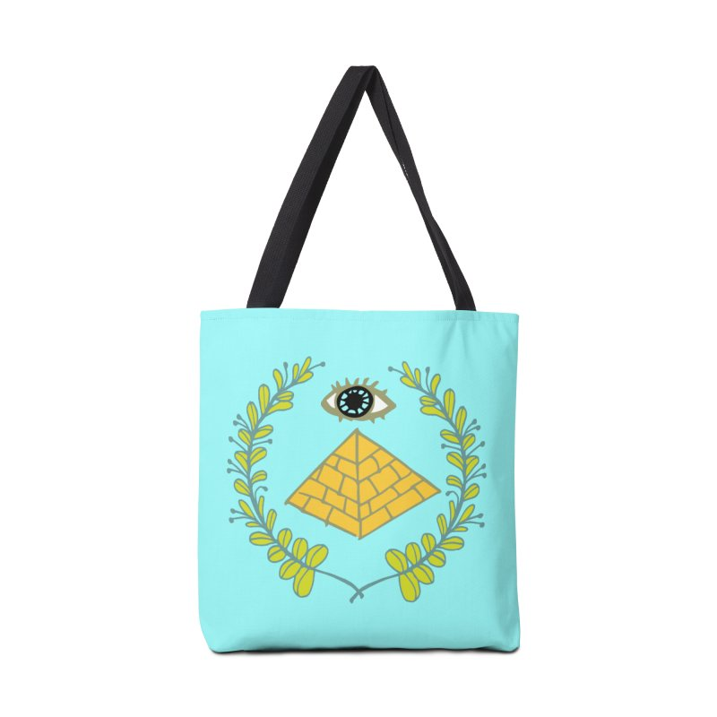 Pyramid <o> Scheme Accessories Tote Bag Bag by napiform clip art