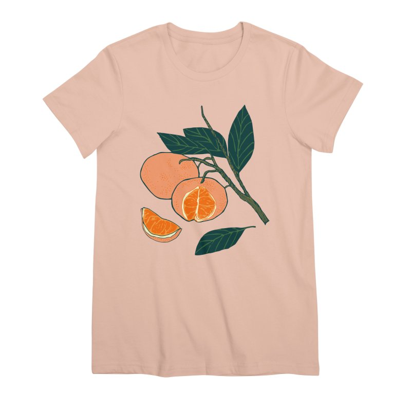 Satsumas Women's Premium T-Shirt by bad arithmetic