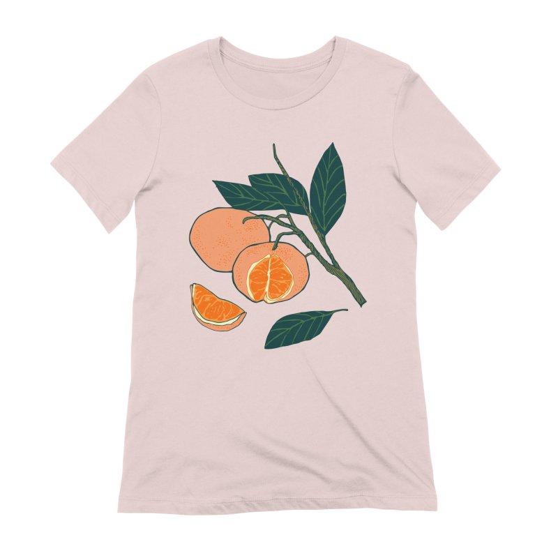 Satsumas Women's T-Shirt by bad arithmetic