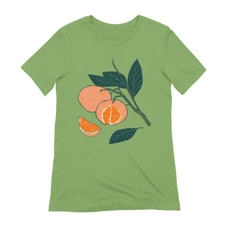 Satsumas Women's Extra Soft T-Shirt by bad arithmetic