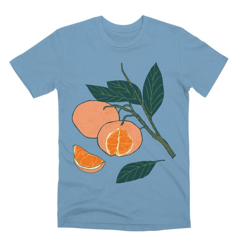 Satsumas Men's Premium T-Shirt by bad arithmetic