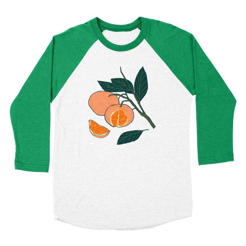 Satsumas Men's Baseball Triblend Longsleeve T-Shirt by bad arithmetic