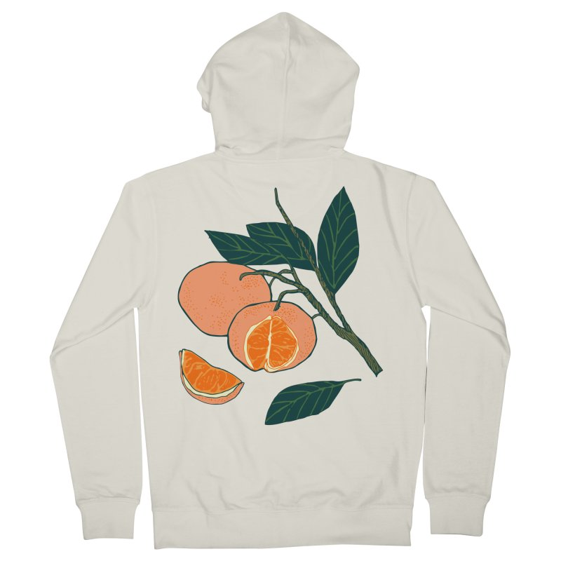 Satsumas Women's French Terry Zip-Up Hoody by bad arithmetic