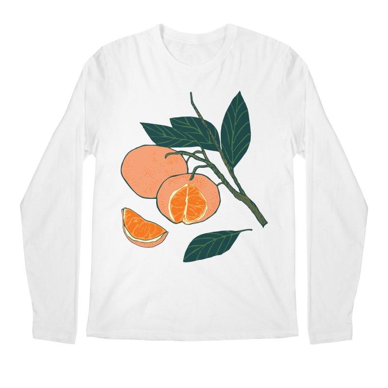 Satsumas Men's Regular Longsleeve T-Shirt by bad arithmetic