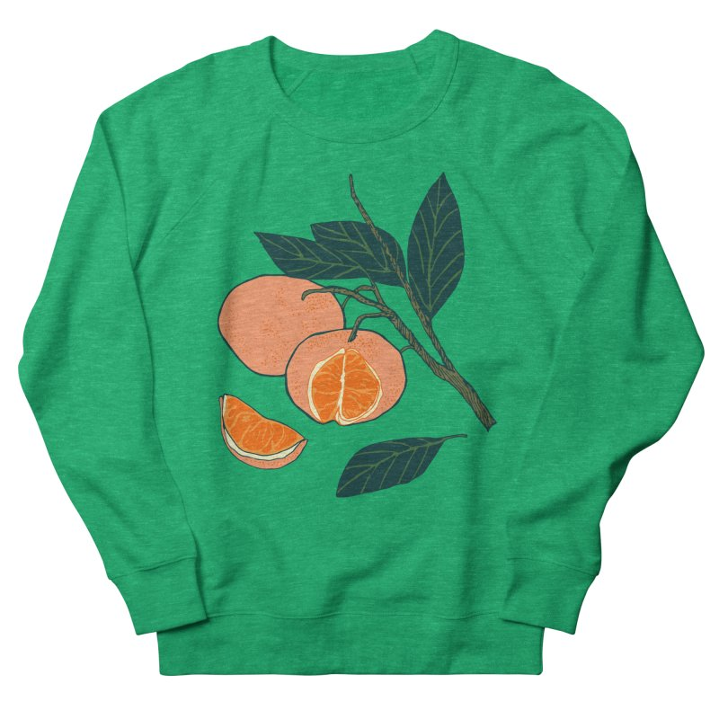 Satsumas Women's French Terry Sweatshirt by bad arithmetic