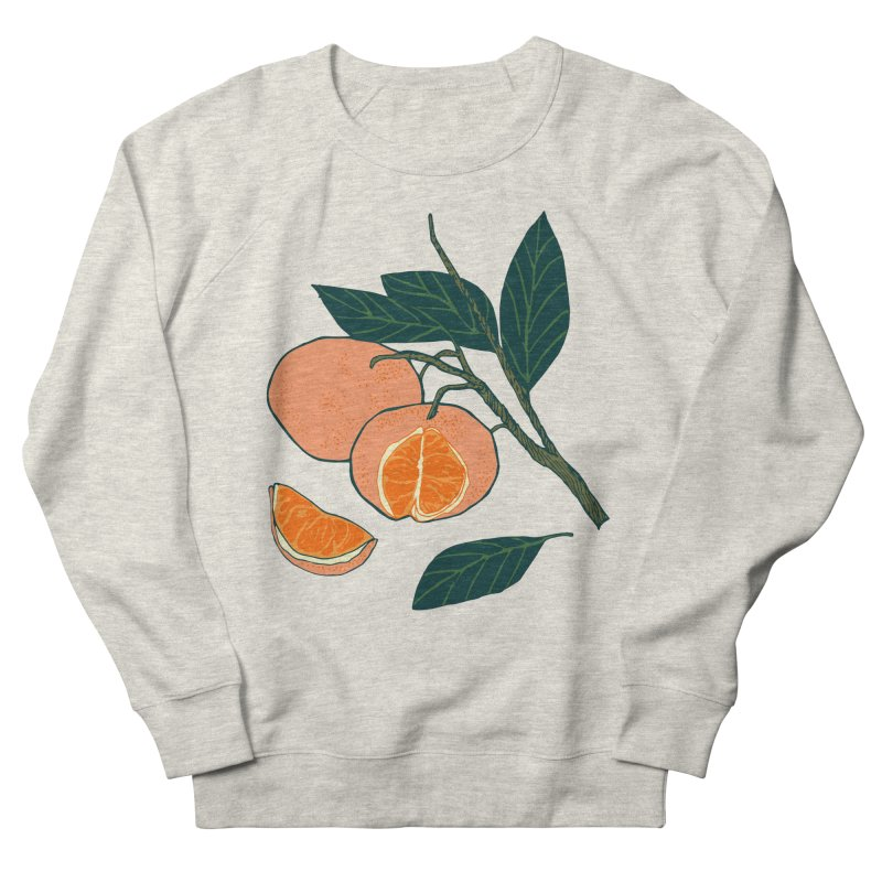 Satsumas Men's French Terry Sweatshirt by bad arithmetic