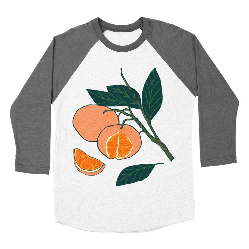 Satsumas Women's Baseball Triblend Longsleeve T-Shirt by bad arithmetic