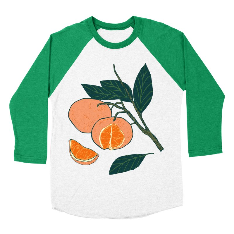 Satsumas Women's Baseball Triblend Longsleeve T-Shirt by napiform clip art