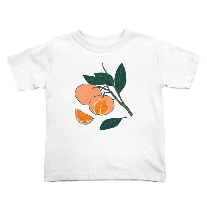 Satsumas Kids Toddler T-Shirt by bad arithmetic