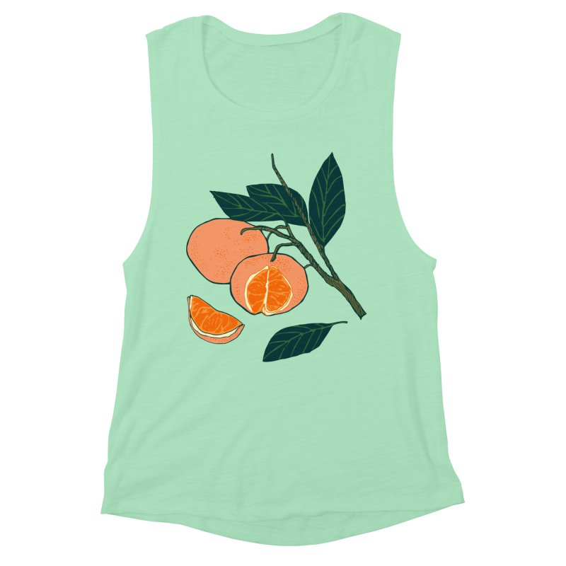 Satsumas Women's Muscle Tank by bad arithmetic