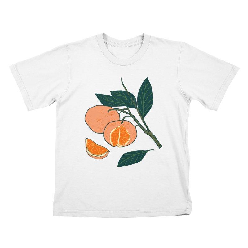 Satsumas Kids T-Shirt by bad arithmetic