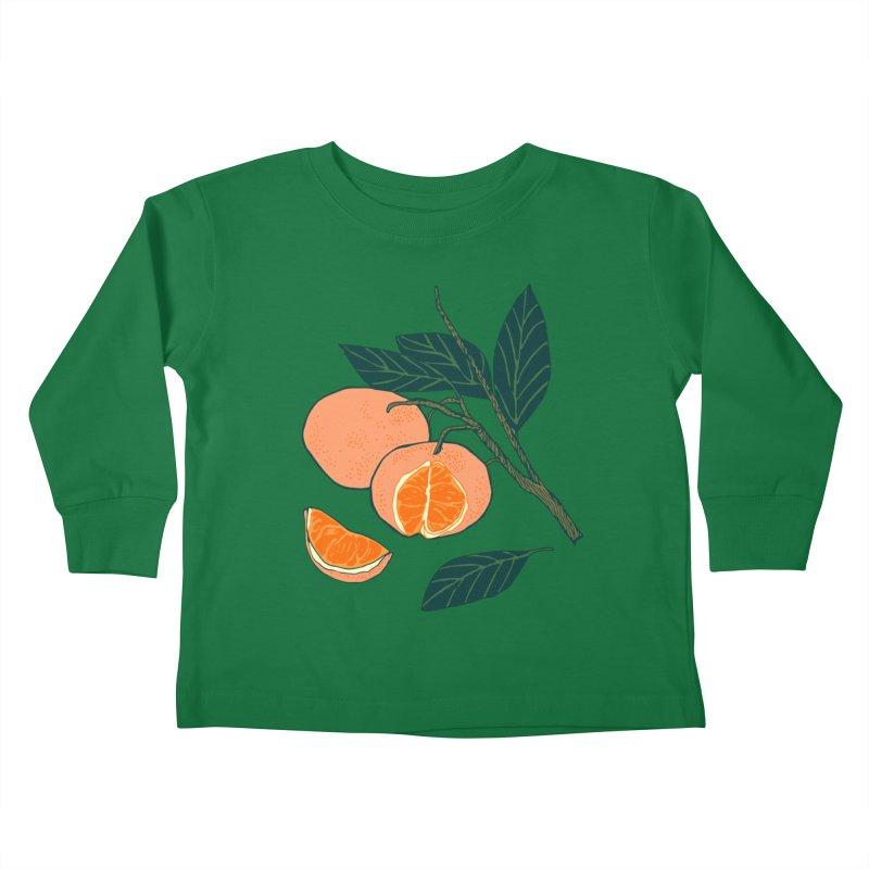 Satsumas Kids Toddler Longsleeve T-Shirt by bad arithmetic