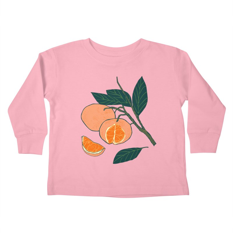 Satsumas Kids Toddler Longsleeve T-Shirt by napiform clip art