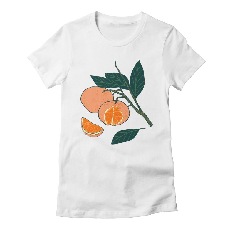 Satsumas Women's Fitted T-Shirt by bad arithmetic