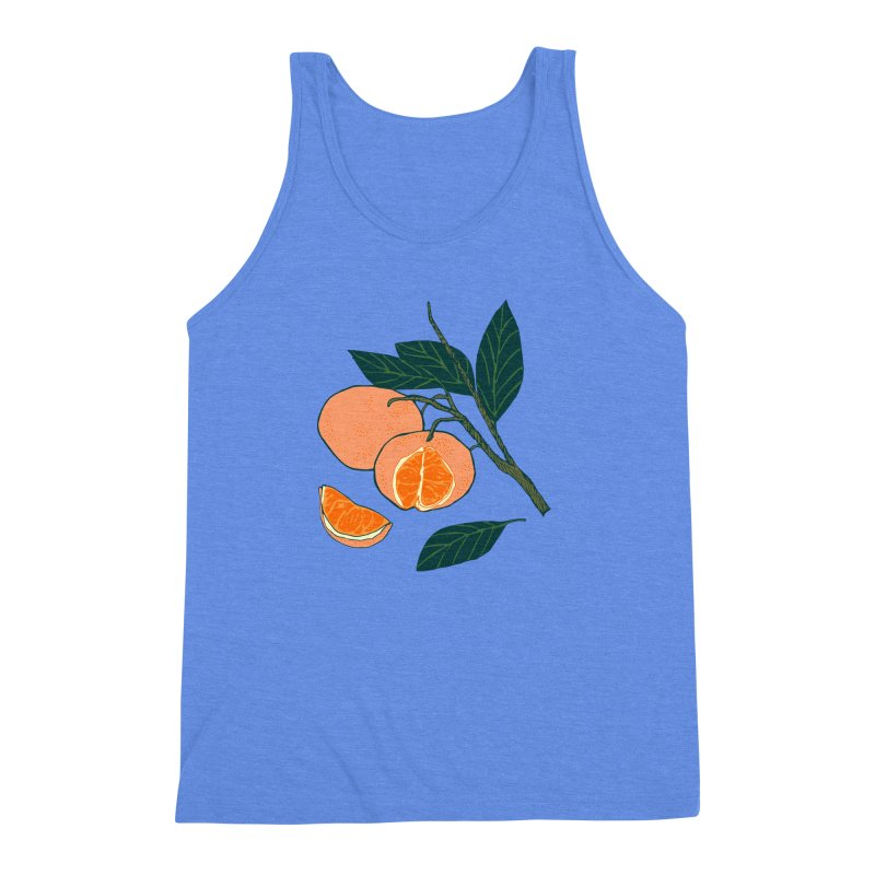 Satsumas Men's Triblend Tank by napiform clip art