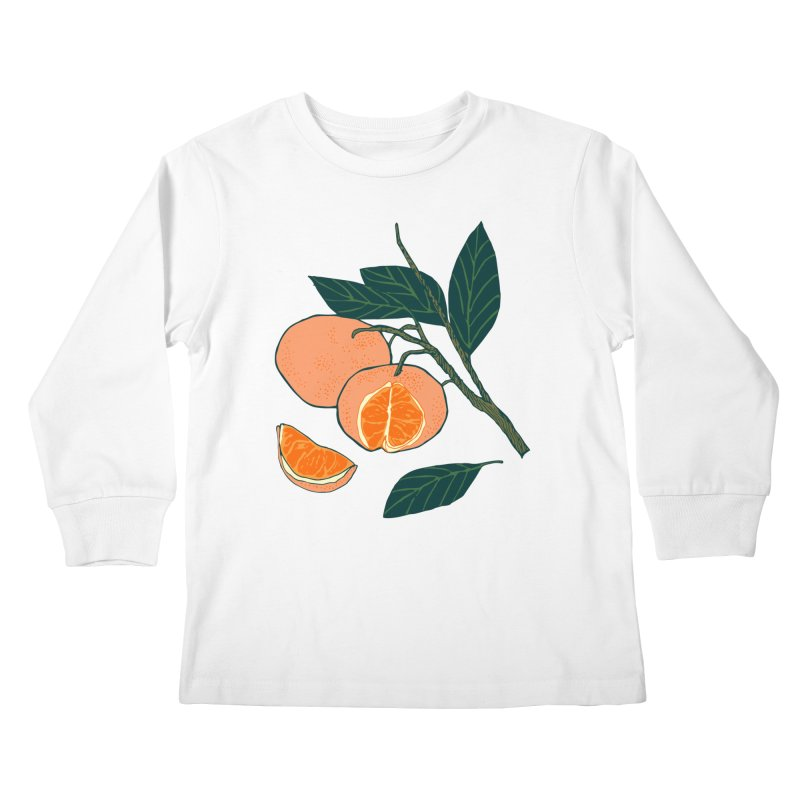 Satsumas Kids Longsleeve T-Shirt by bad arithmetic