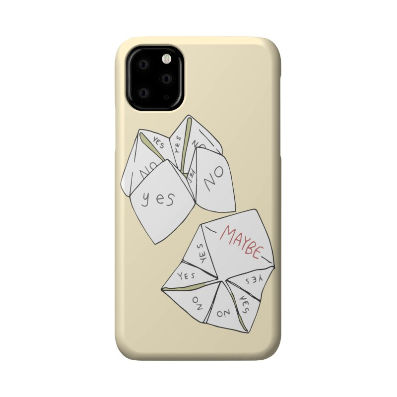 Simple Answer Accessories Phone Case by bad arithmetic