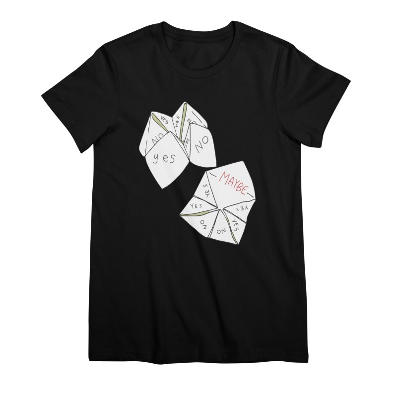 Simple Answer Women's Premium T-Shirt by bad arithmetic