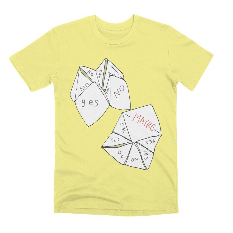 Simple Answer Men's Premium T-Shirt by bad arithmetic