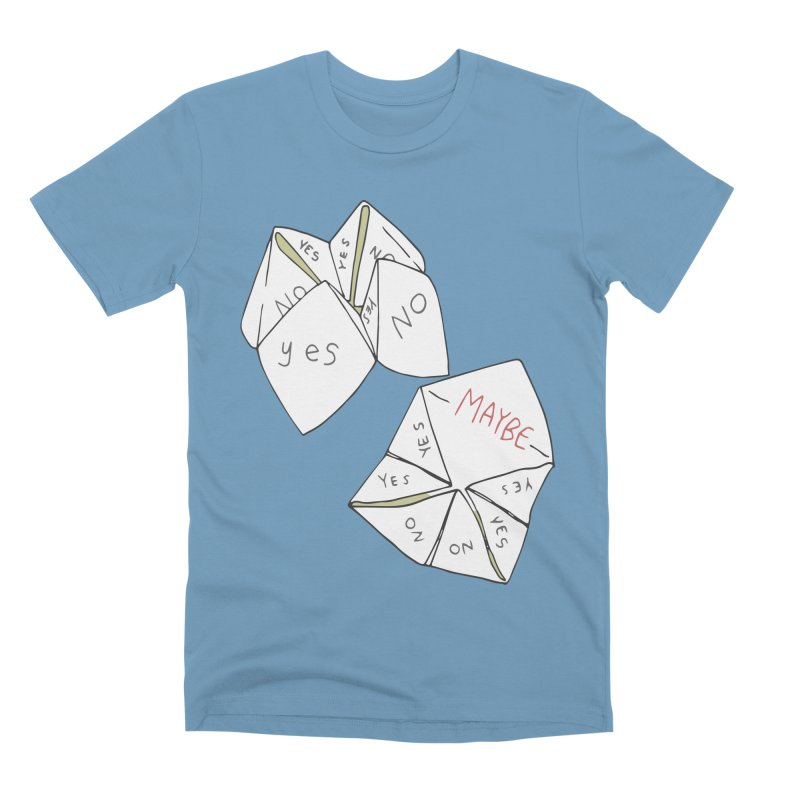 Simple Answer Men's Premium T-Shirt by bad arithmetic