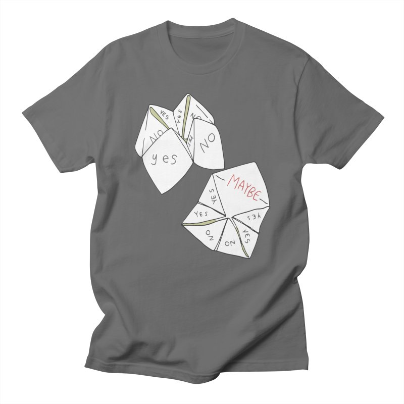 Simple Answer Men's T-Shirt by bad arithmetic