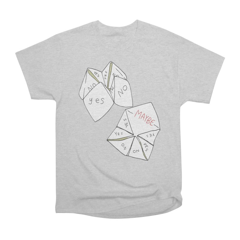 Simple Answer Women's Heavyweight Unisex T-Shirt by bad arithmetic