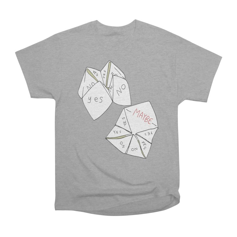 Simple Answer Men's Heavyweight T-Shirt by bad arithmetic