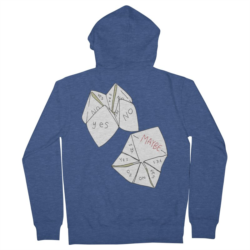 Simple Answer Women's French Terry Zip-Up Hoody by bad arithmetic