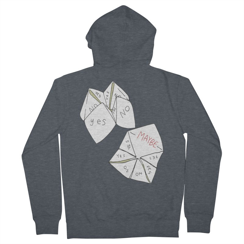 Simple Answer Men's French Terry Zip-Up Hoody by bad arithmetic
