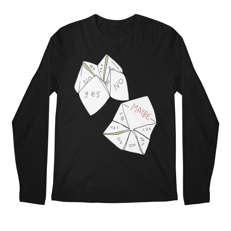 Simple Answer Men's Regular Longsleeve T-Shirt by bad arithmetic