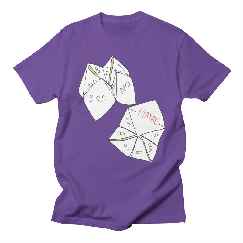 Simple Answer Women's Regular Unisex T-Shirt by bad arithmetic