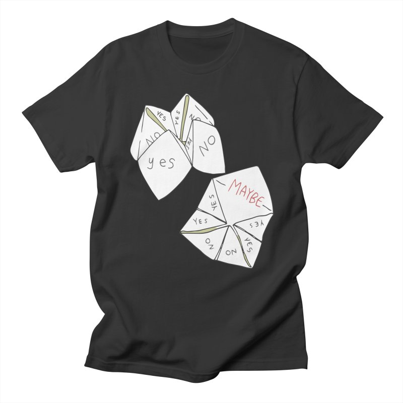 Simple Answer Men's Regular T-Shirt by bad arithmetic