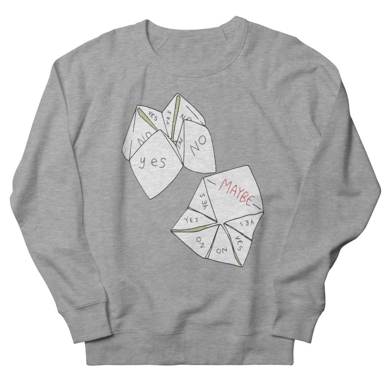 Simple Answer Women's French Terry Sweatshirt by bad arithmetic