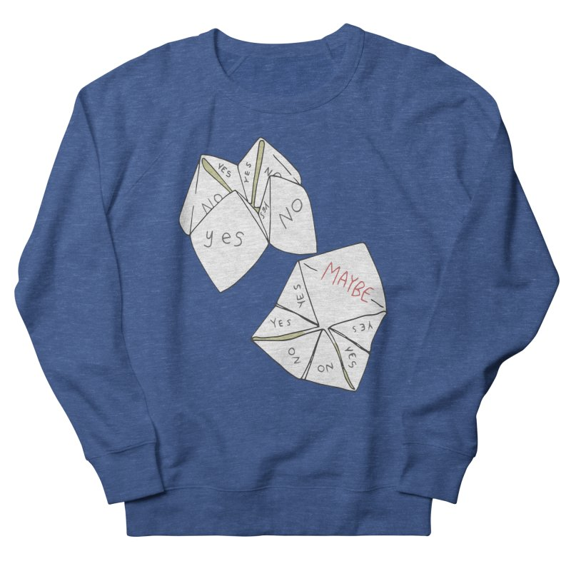 Simple Answer Men's French Terry Sweatshirt by bad arithmetic