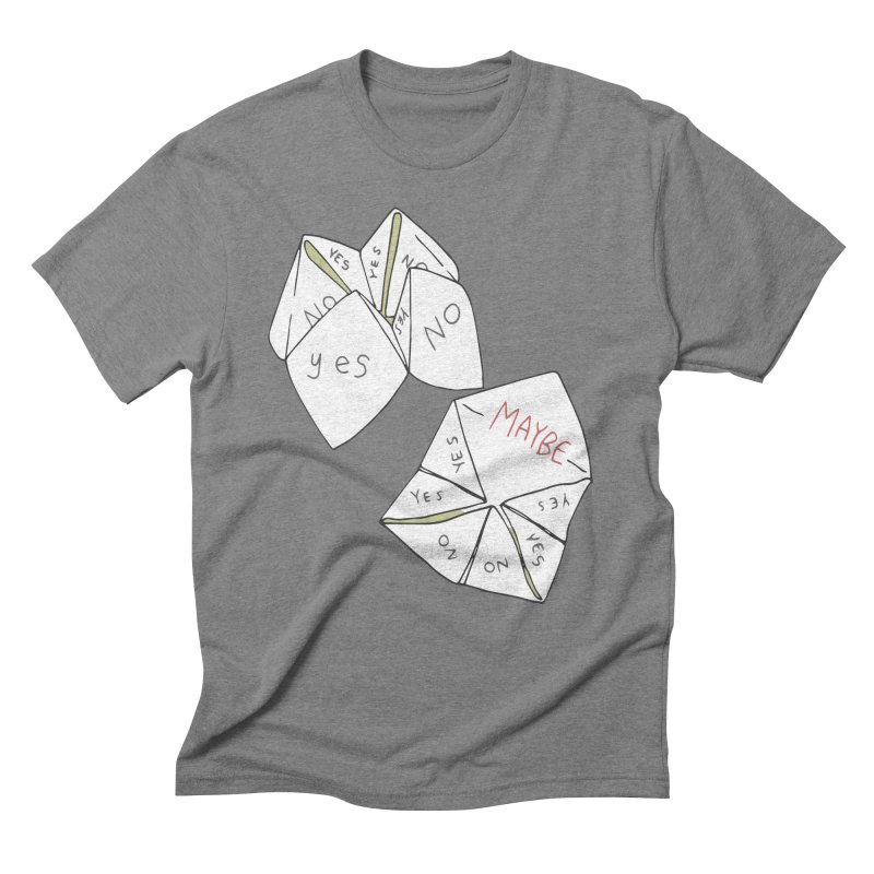 Simple Answer Men's Triblend T-Shirt by bad arithmetic