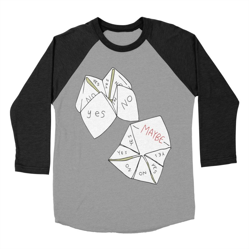 Simple Answer Women's Baseball Triblend Longsleeve T-Shirt by bad arithmetic