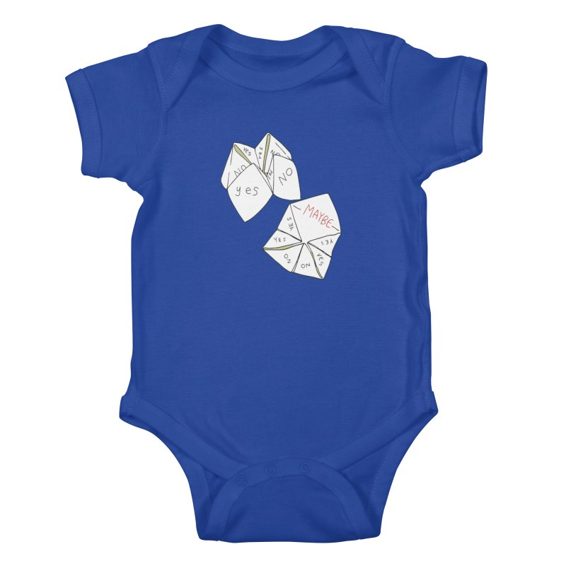 Simple Answer Kids Baby Bodysuit by bad arithmetic