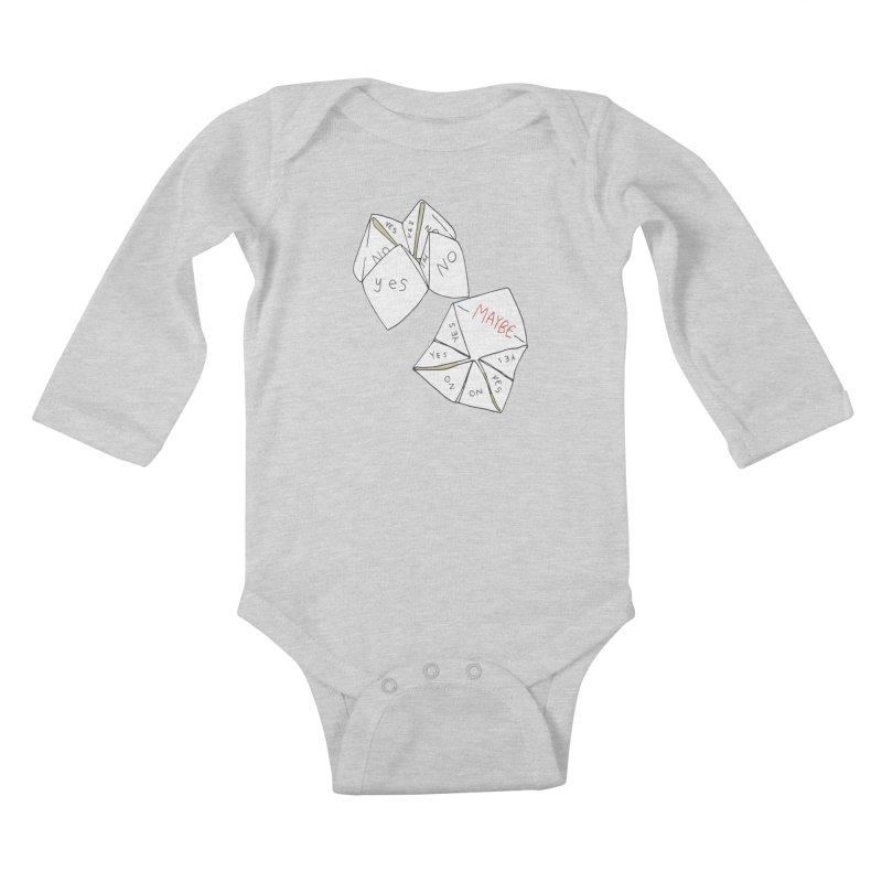Simple Answer Kids Baby Longsleeve Bodysuit by bad arithmetic