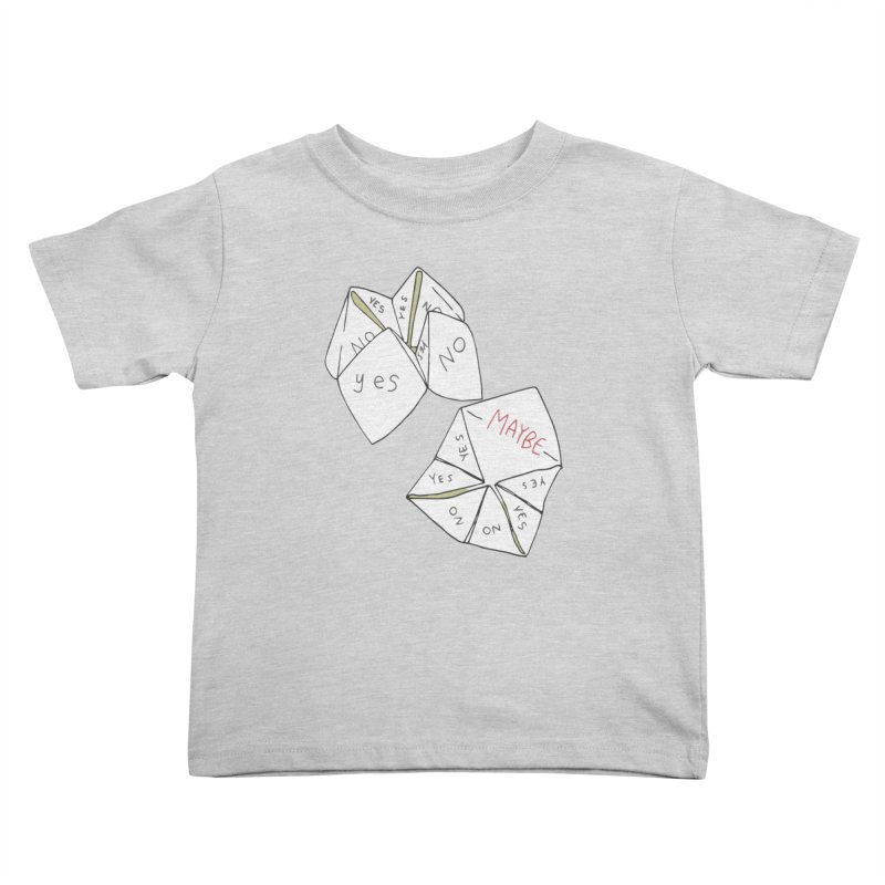 Simple Answer Kids Toddler T-Shirt by bad arithmetic