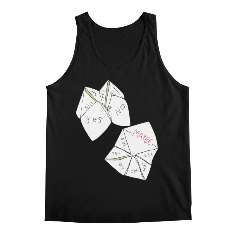 Simple Answer Men's Regular Tank by bad arithmetic