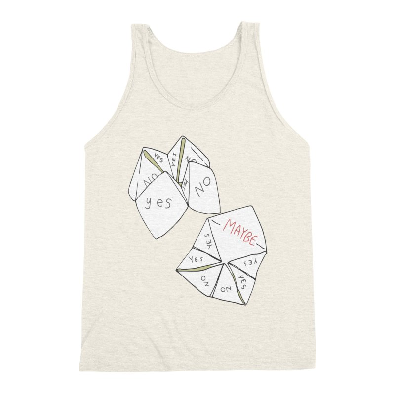 Simple Answer Men's Triblend Tank by bad arithmetic