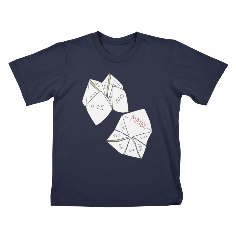 Simple Answer Kids T-Shirt by bad arithmetic