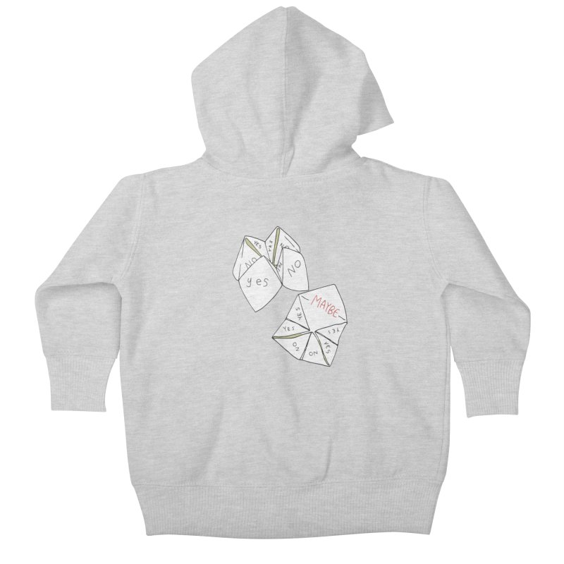Simple Answer Kids Baby Zip-Up Hoody by bad arithmetic