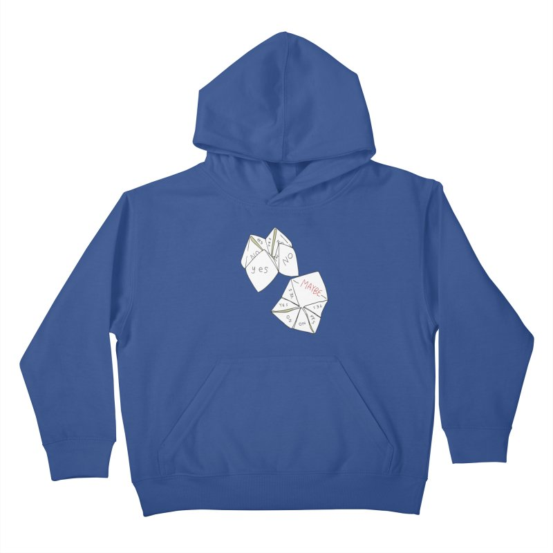 Simple Answer Kids Pullover Hoody by napiform clip art
