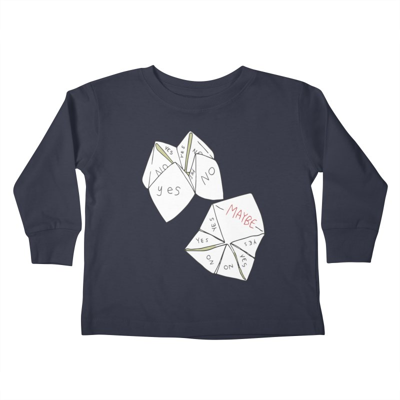 Simple Answer Kids Toddler Longsleeve T-Shirt by bad arithmetic