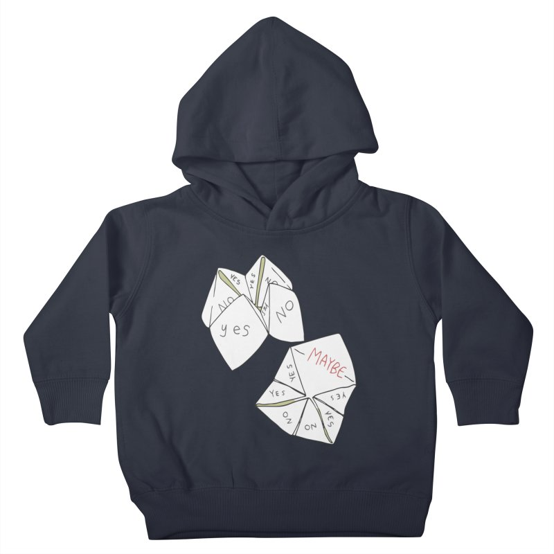 Simple Answer Kids Toddler Pullover Hoody by bad arithmetic